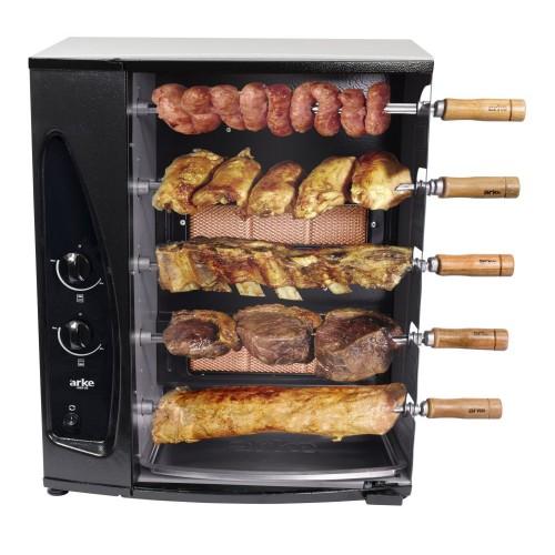 As churrasqueiras a gás precisam de uma instalação mais complexa (Imagem: Divulgação/Arke)
